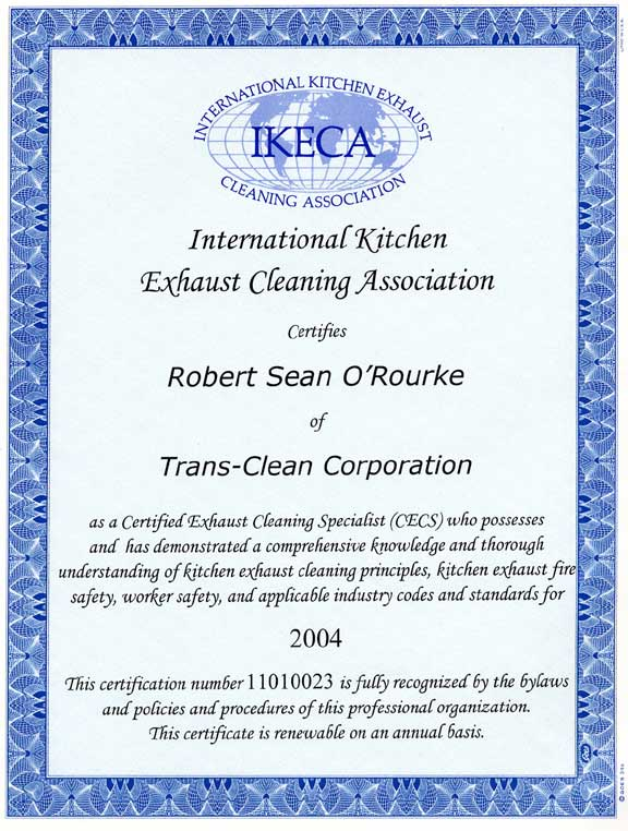 Interior Kitchen Certification trans clean corp experts in powerwashing for residential please select the area which you would like further information